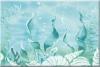 Декор Лазурь морское дно бирюзовый