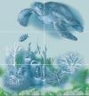 Панно Черепаха ( к-т из 6 плиток)