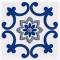 Декор Сиди-Бу-Саид Синий 02-03-65-1001-3