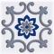 Декор Сиди-Бу-Саид Серый 02-03-06-1001-4