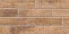 Плитка Брик коричневый матовый