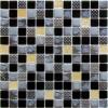Мозаика Domino рельеф. чип 23мм на сетке ПВХ