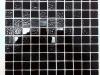 Мозаика Black Rose черный размер чипа 25*25*3,5 мм