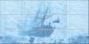 Панно Корабль( к-т из 9 плиток)