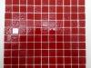 Мозаика Red Rose красный размер чипа 25*25*3,5 мм