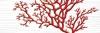 Декор Коралл белый 17-03-00-901-5