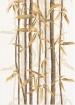 Декор Ретро бамбук 1 коричневый