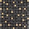 Мозаика Classik night глянц. чип 15мм на сетке ПВХ