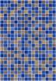 Плитка Гламур 2Т голубой