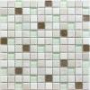 Мозаика Lotto рельеф. чип 23мм на сетке ПВХ