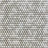 Мозаика Pixel cream мат. на сетке ПВХ