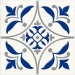 Плитка Сиди-Бу-Саид синий 15-00-65-1000