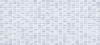 Плитка Pudra мозаика рельеф голубой (PDG043D)