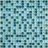 Мозаика Sea Drops  глянц. чип 15мм на сетке ПВХ