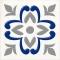 Декор Сиди-Бу-Саид Серый 02-03-06-1001-2