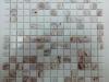Мозаика Diva бел. микс с авантюрином размер чипа 20*20*4 мм