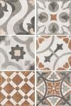 Керамогранит Carpet многоцветный рельеф CP4A452