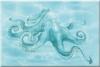 Декор Лазурь осьминог бирюзовый