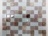 Мозаика Prestige бело-беж. микс размер чипа 25*25*3,5 мм