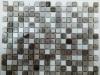 Мозаика Elegant бело-серый микс размер чипа 15*15*4 мм