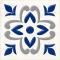 Декор Сиди-Бу-Саид Синий 02-03-65-1001-1