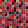 Мозаика Poker рельеф. чип 23мм на сетке ПВХ