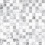 Мозаика Extra серый+белый