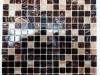 Мозаика Nova коричн. микс с авантюрином размер чипа 20*20*4 мм