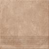 Ступень Carpet темно-бежевый рельеф CP4A156