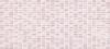 Плитка Pudra мозаика рельеф розовый (PDG073D)