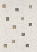 Декор Квадро мозаика белый