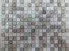 Мозаика Comfort бело-серый микс размер чипа 15*15*4 мм