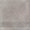 Ступень CP4A116 Carpet коричневый рельеф